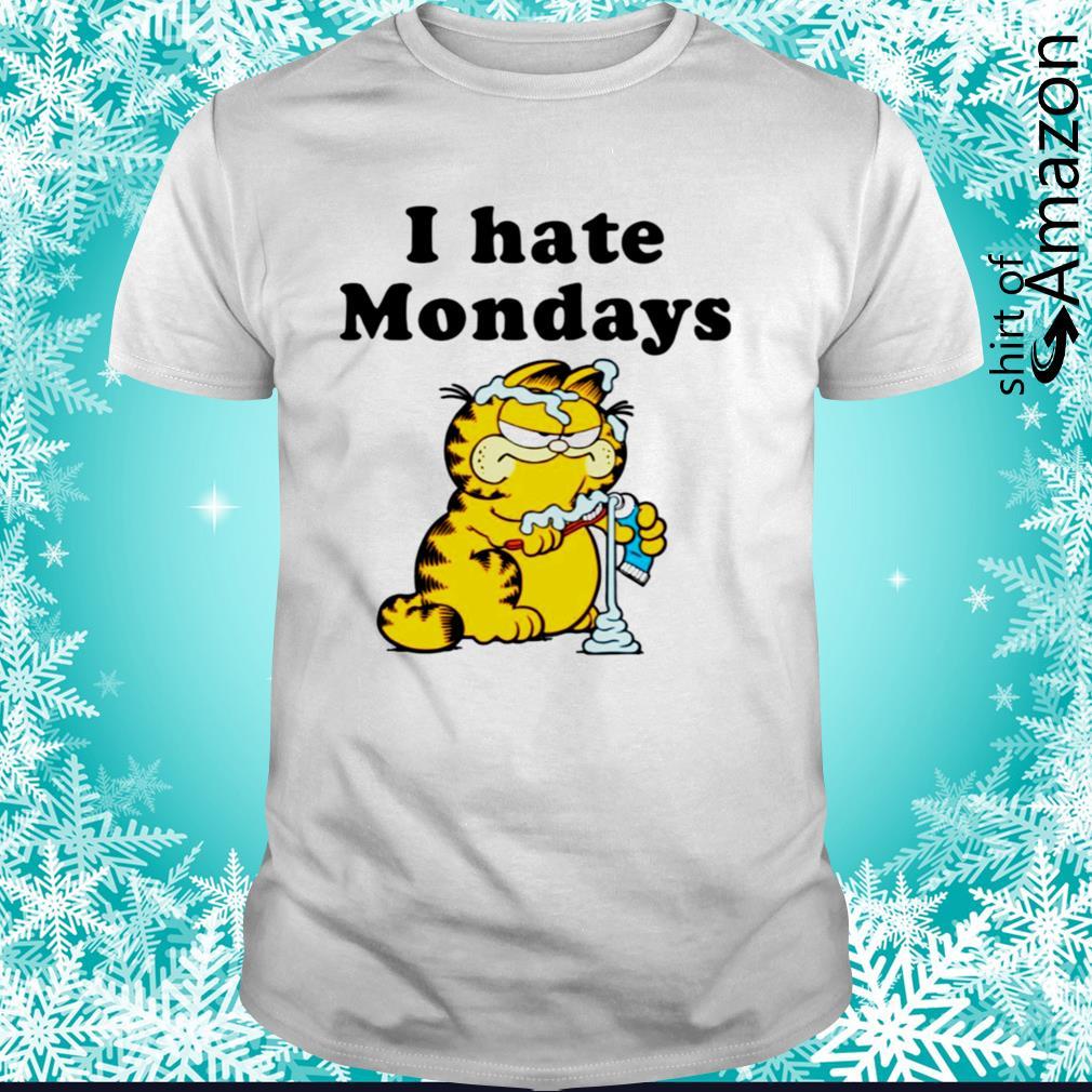 Garfield i hate mondays shirt
