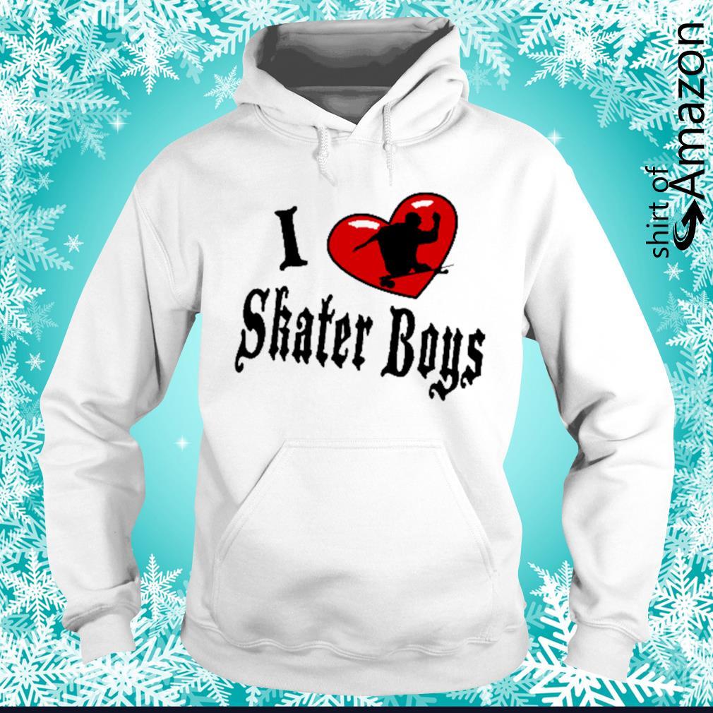 I heart skater boys hoodie
