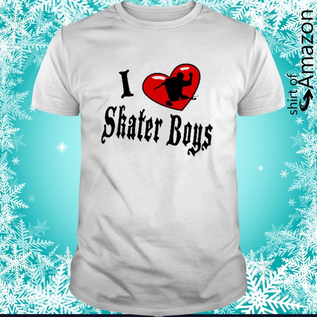 I heart skater boys shirt