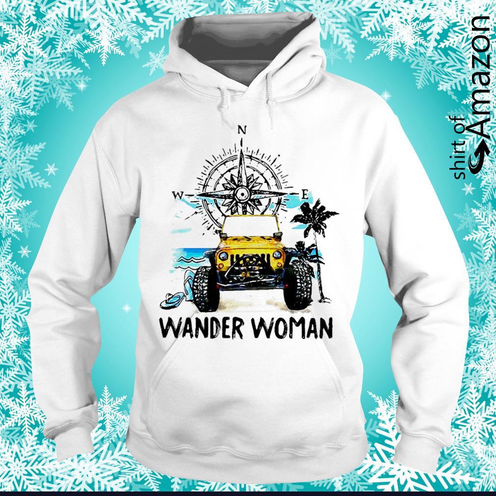 Jeep wander woman hoodie