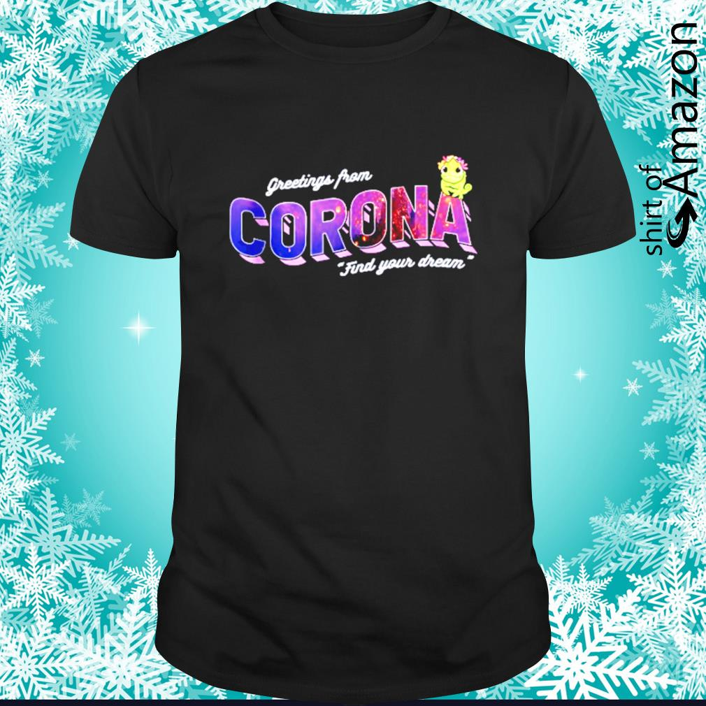 Tangled Pascal greetings from Corona find your dream shirt