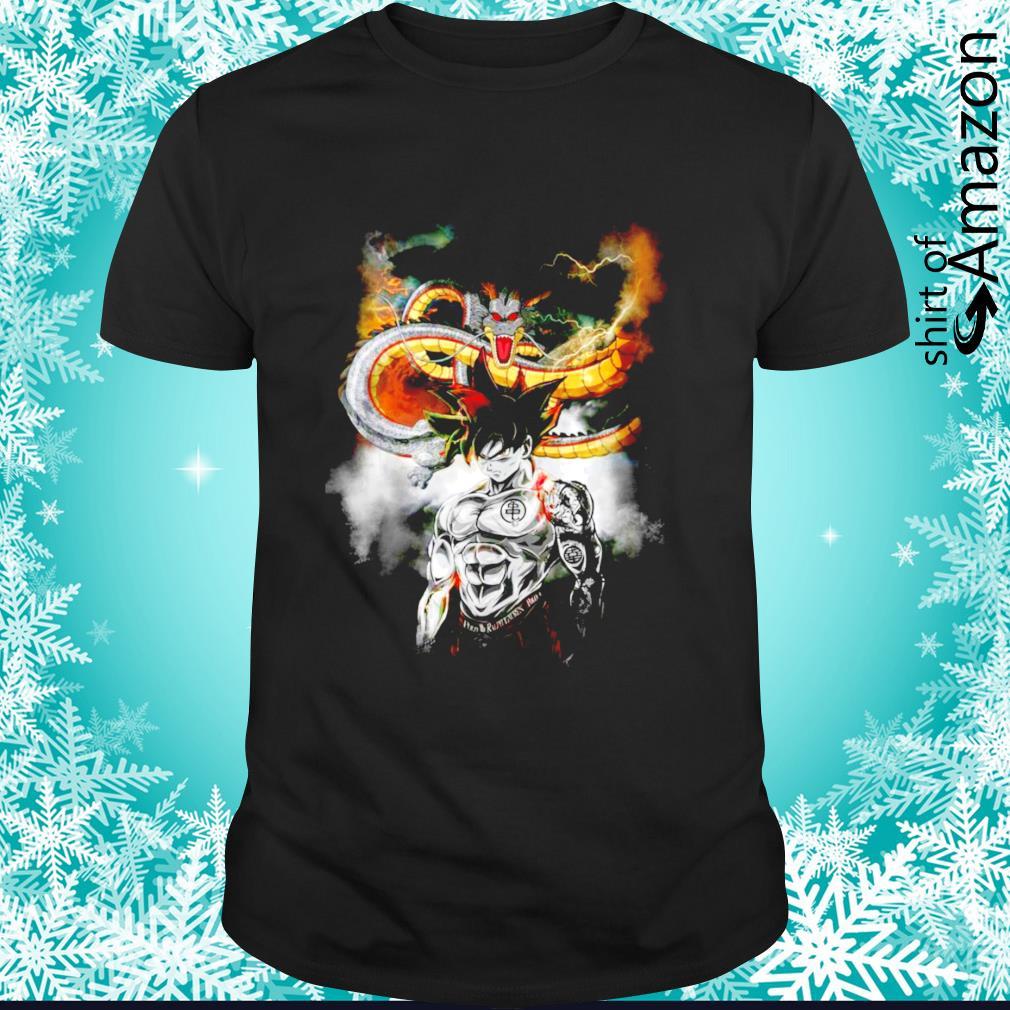 Dragon Ball Super Son Goku and dragon shirt