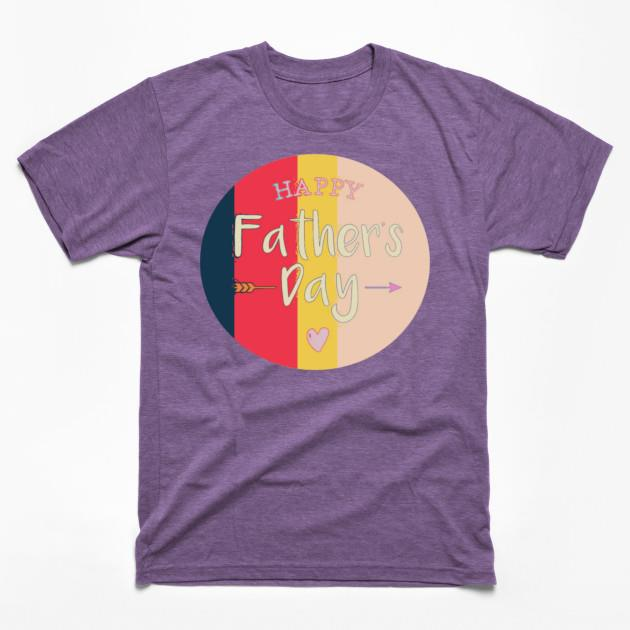 Happy Fathers day heart shirt