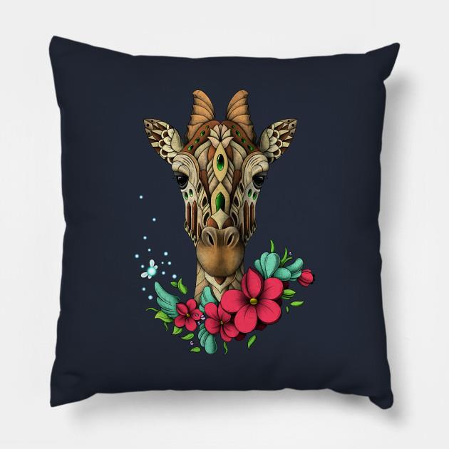 Mystic Giraffe pillow