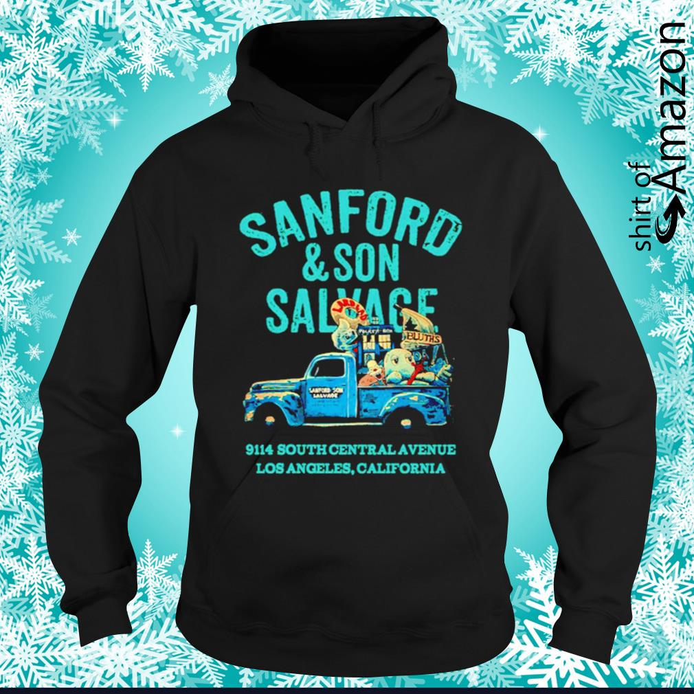Sanford and Son Salvage 9114 South Central Avenue hoodie