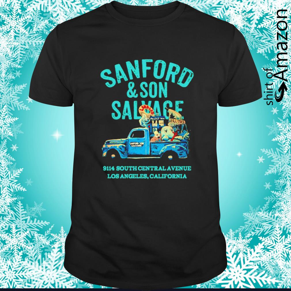 Sanford and Son Salvage 9114 South Central Avenue shirt