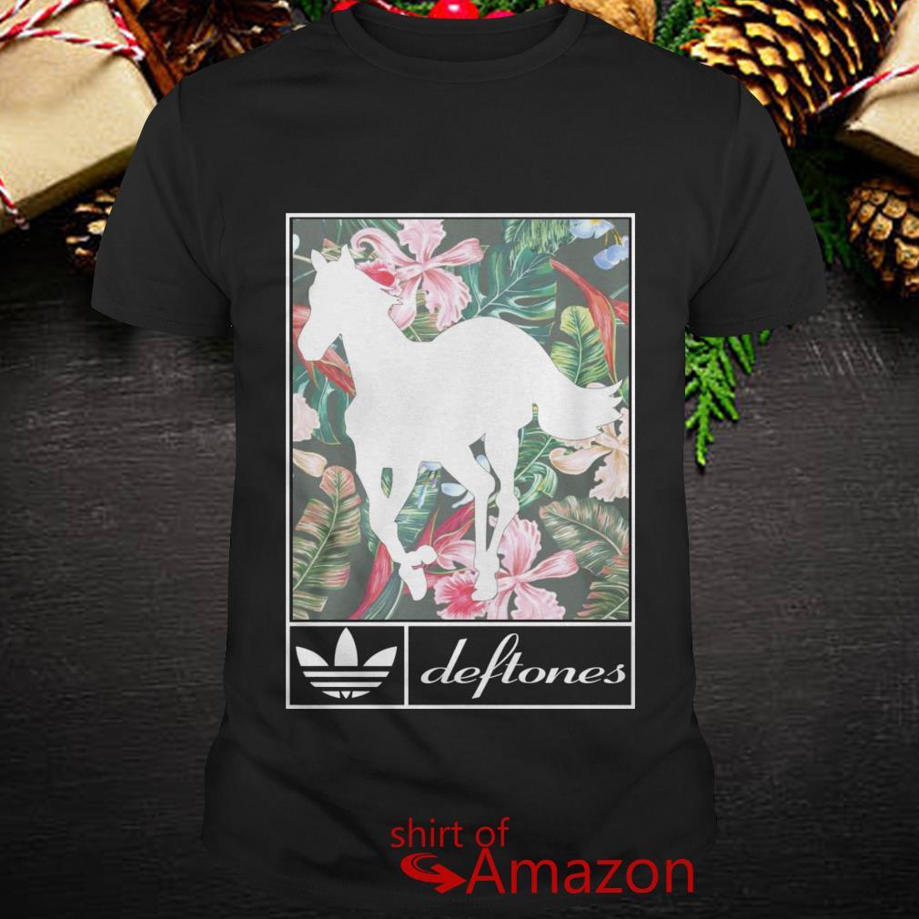 adidas t shirt flower
