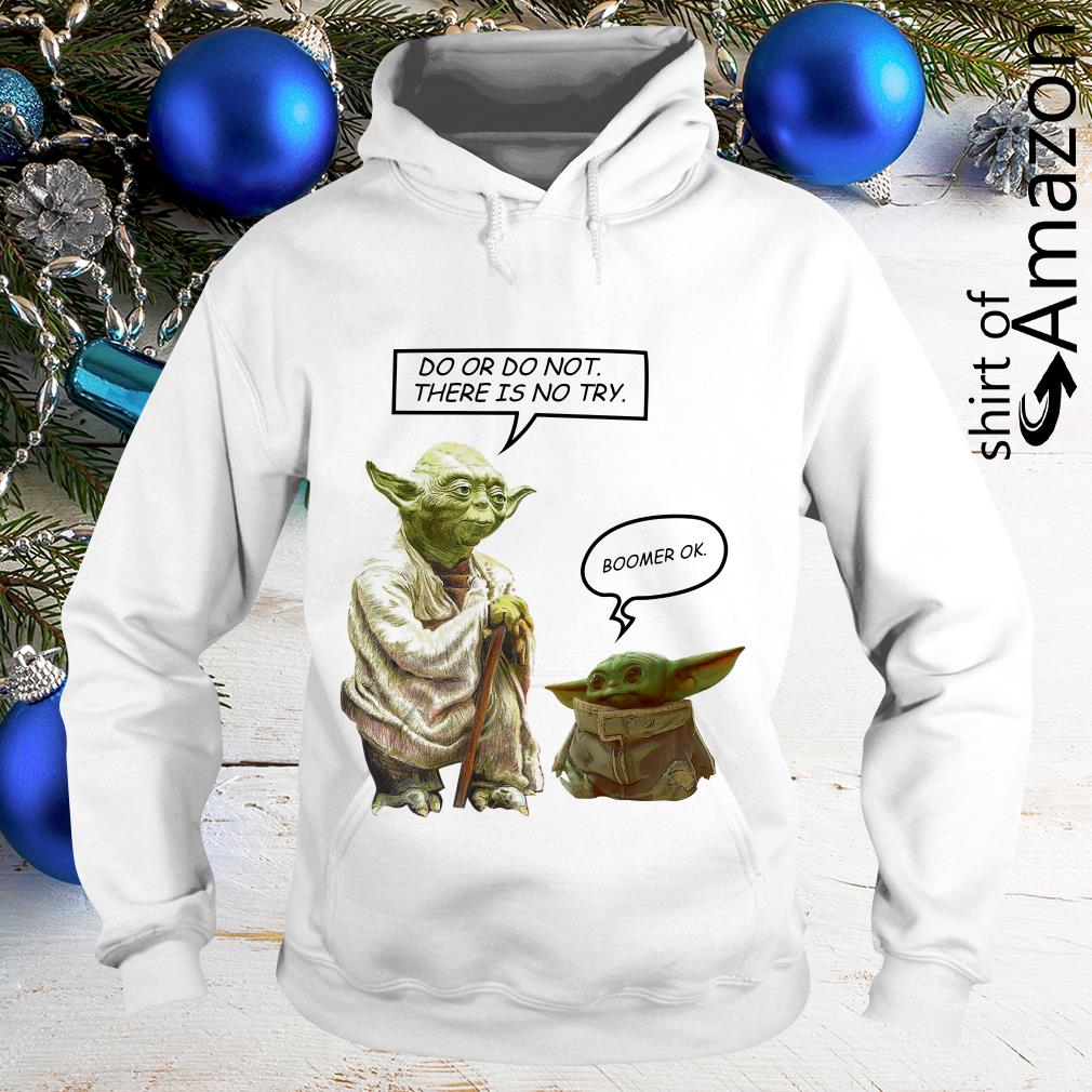 Master Yoda do or do not there is no try Baby Yoda boomer ...
