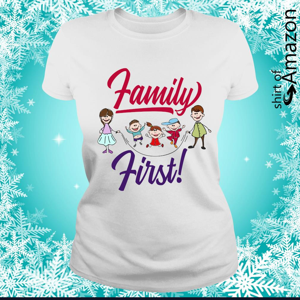 Family first s ladies-tee
