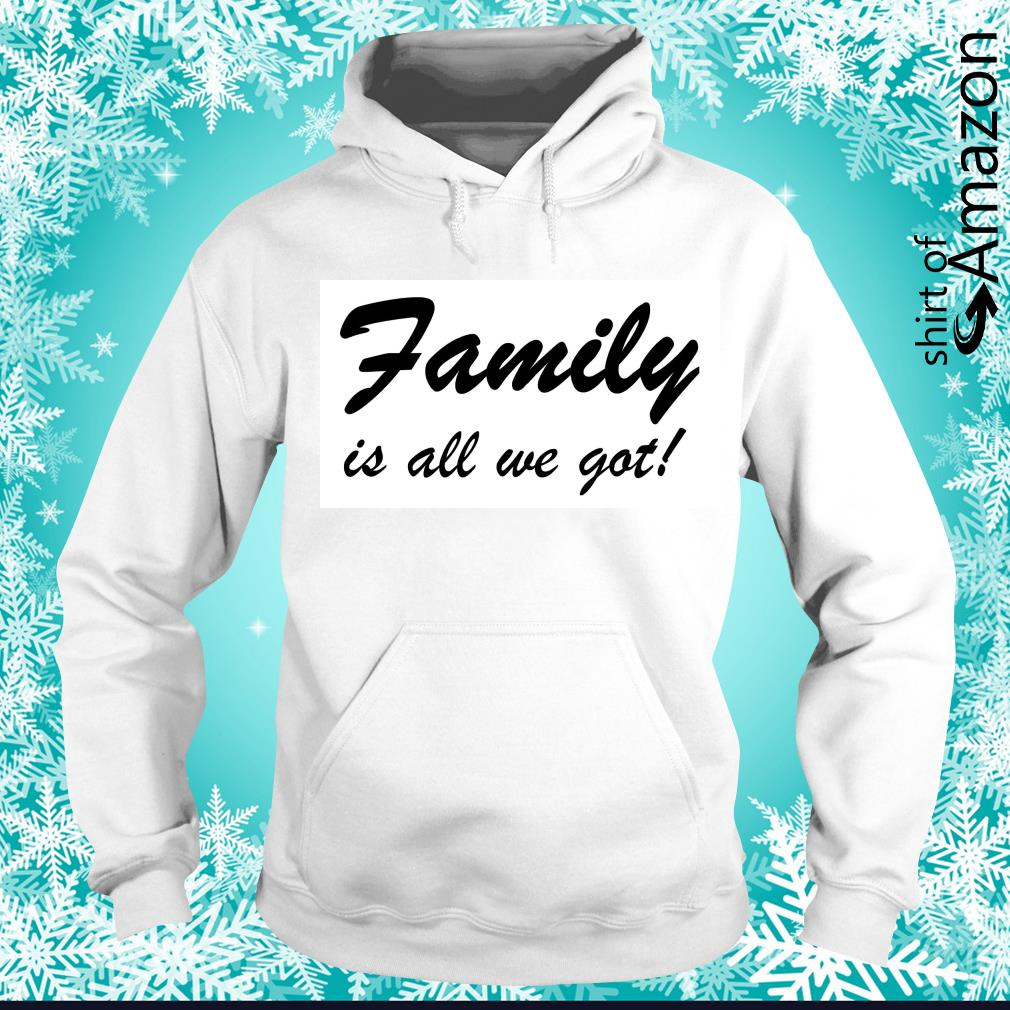 Family is all we got s hoodie