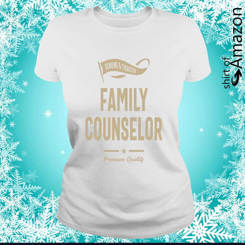 Genuine trusted Family counselor premium quality s ladies-tee
