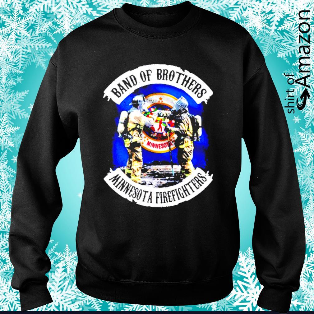 Minnesota Band of Brothers Minnesota firefighters s sweater