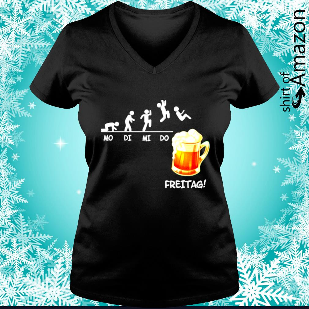 Mo di mi do freitag s v-neck-t-shirt