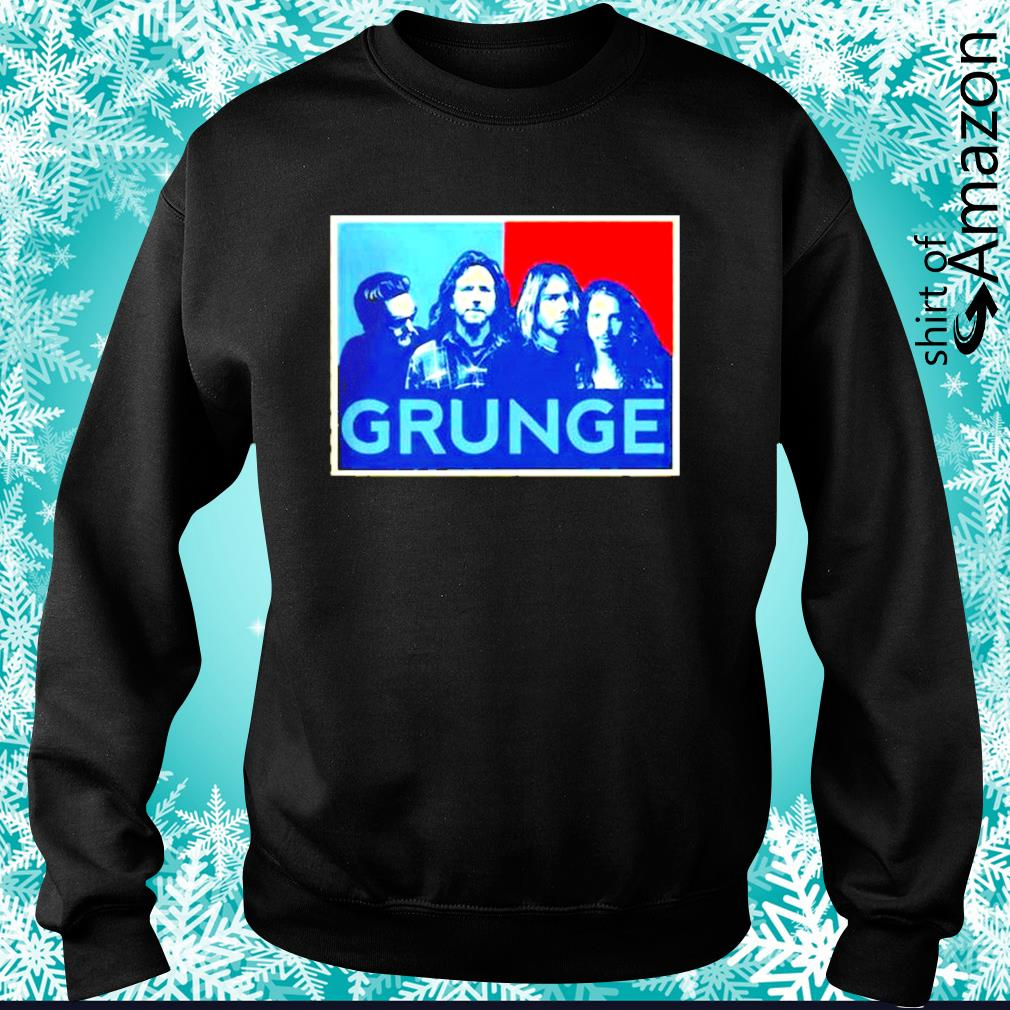 MTV killed the grunge star s sweater