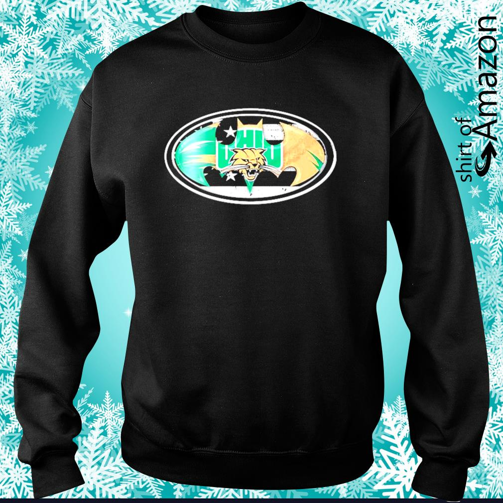 Ohio Bobcats Batman logo s sweater