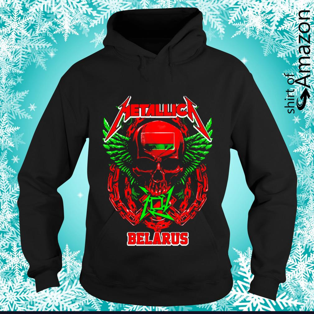 Skull Metallica Belarus s hoodie