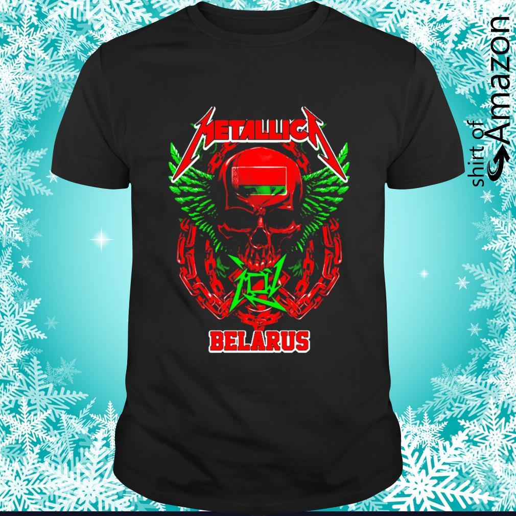 Skull Metallica Belarus shirt