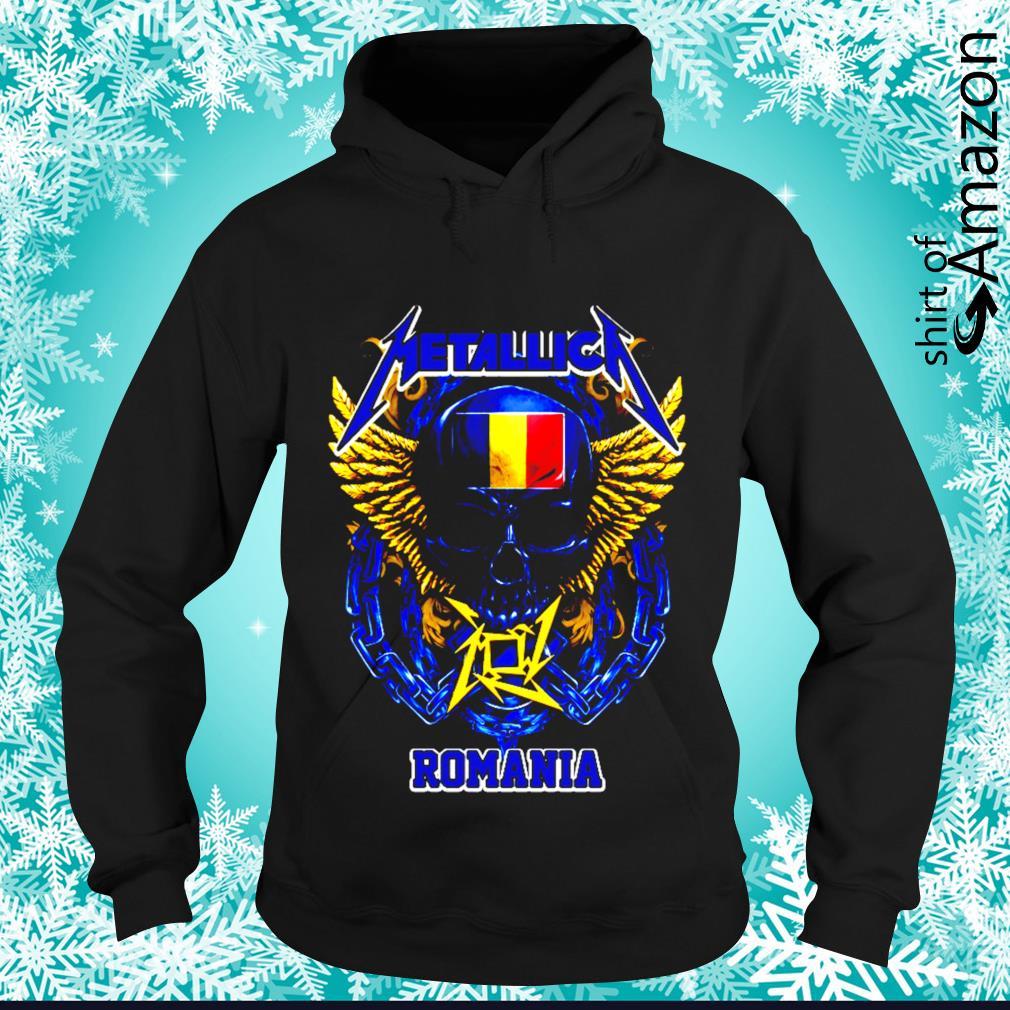 Skull Metallica Romania s hoodie