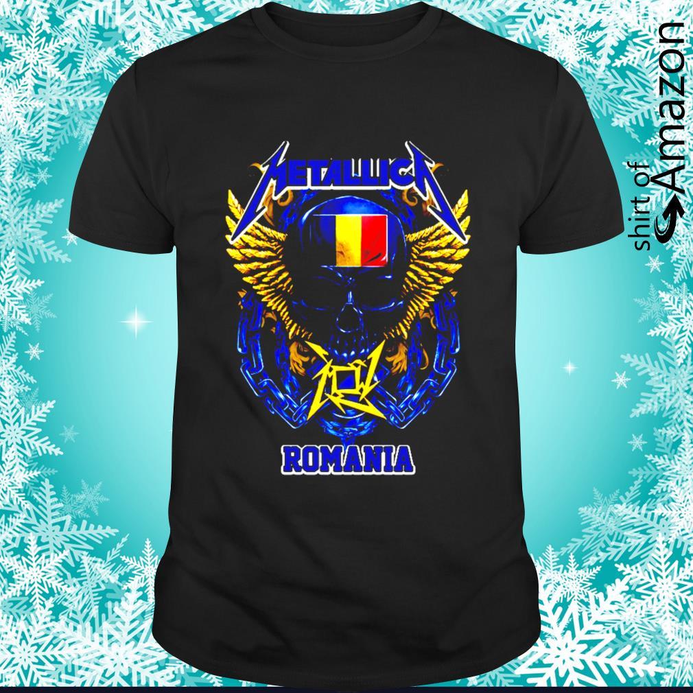 Skull Metallica Romania shirt