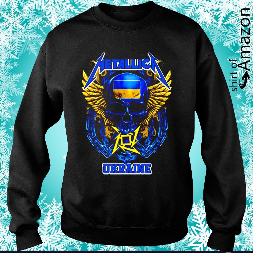 Skull Metallica Ukraine s sweater