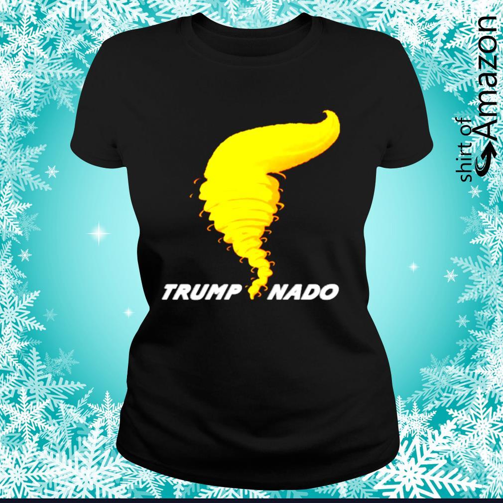 Trumpnado Donald Trump Tornado s ladies-tee