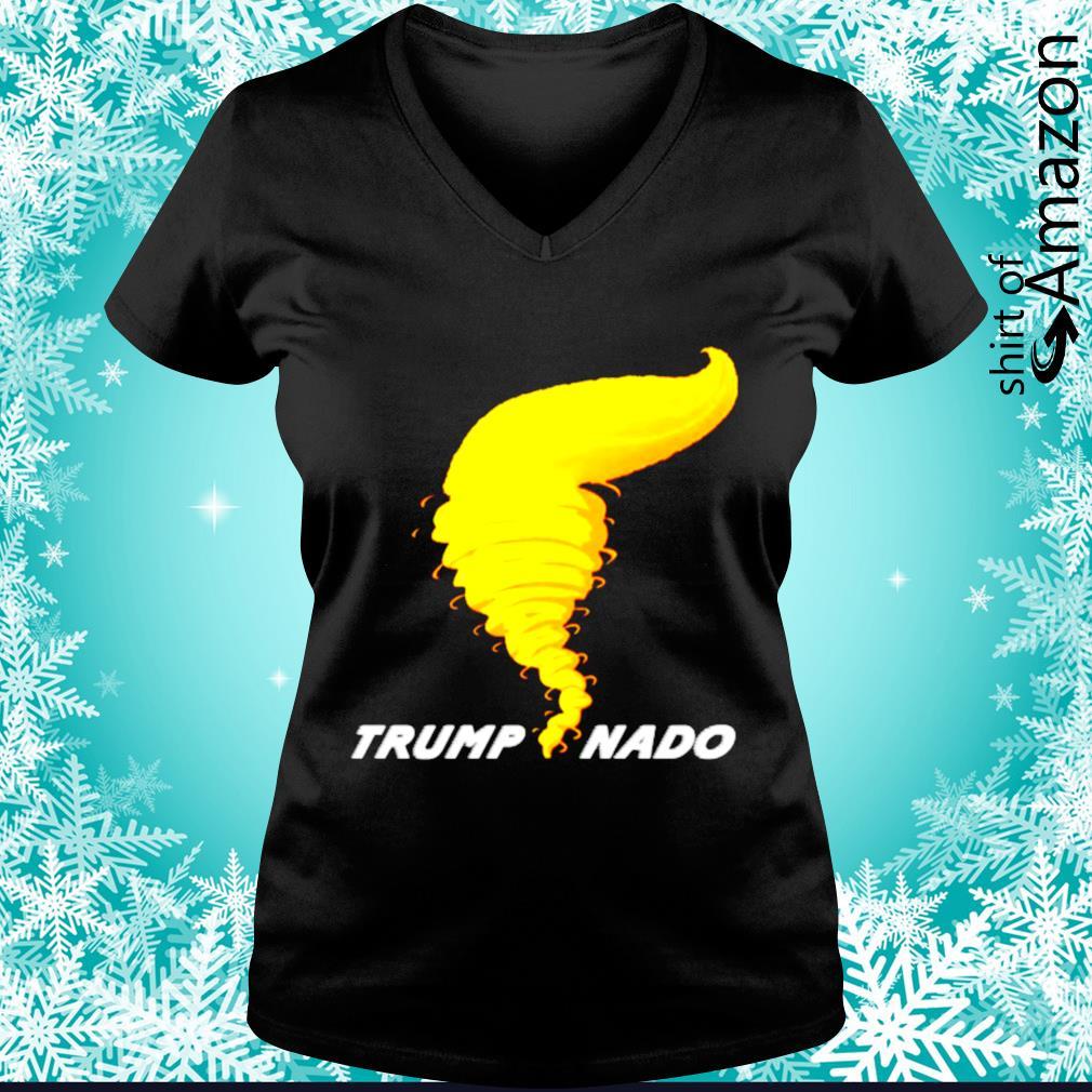 Trumpnado Donald Trump Tornado s v-neck-t-shirt