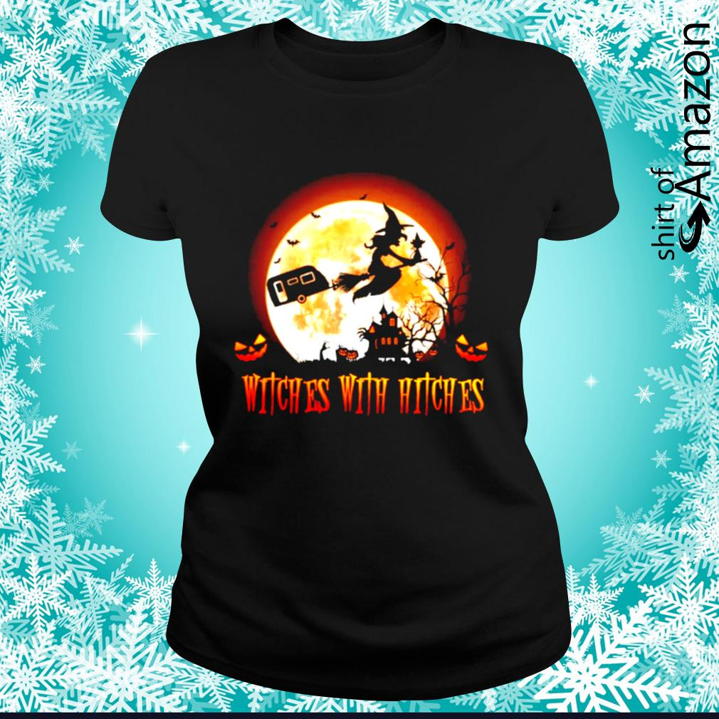 Witches with hitches s ladies-tee