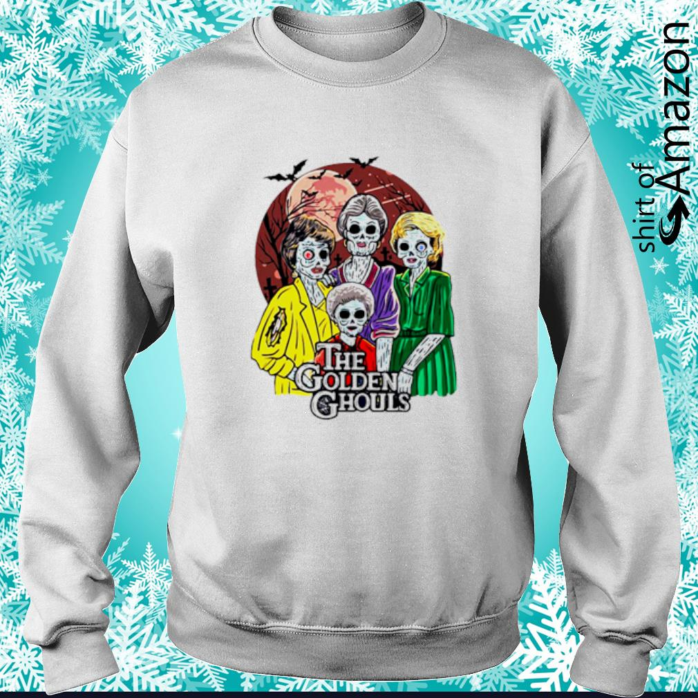 Happy Halloween The Golden Ghouls s sweater