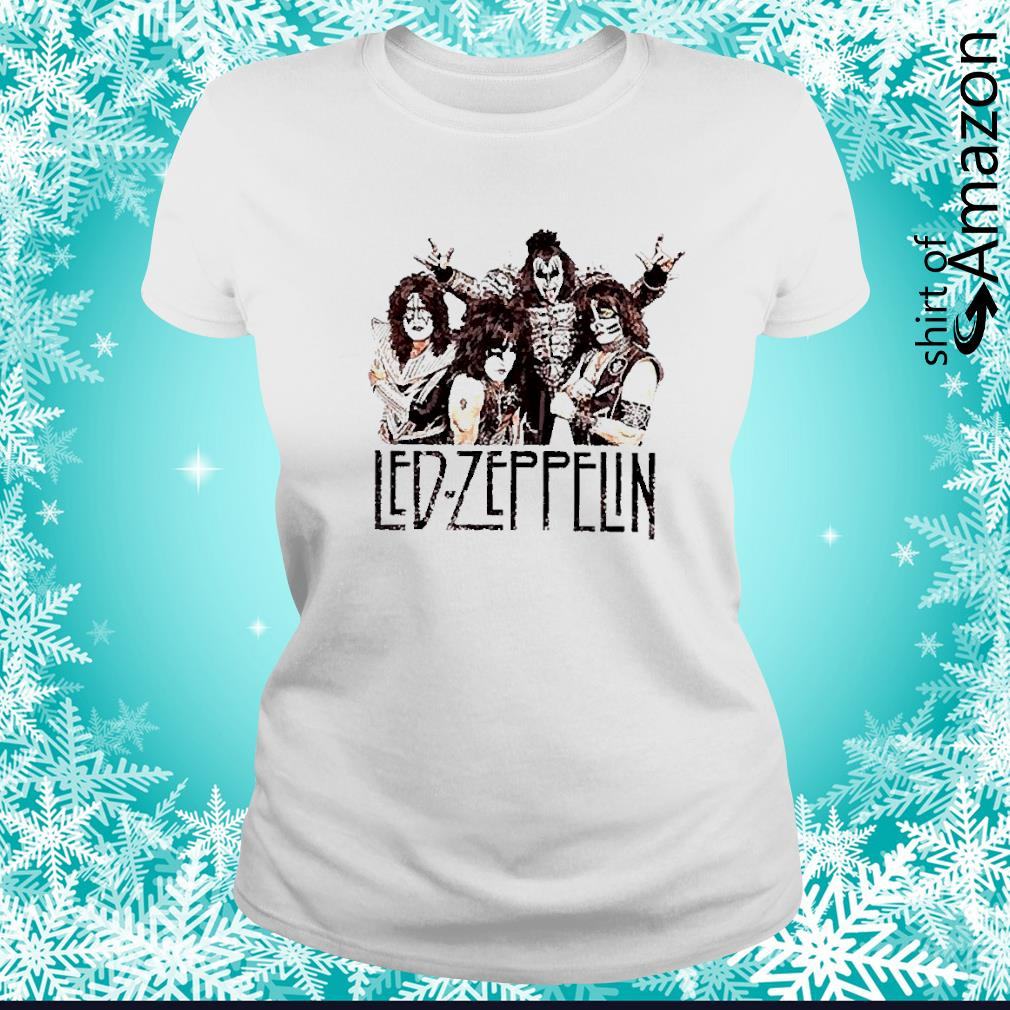 Led Zeppelin rock band s ladies-tee