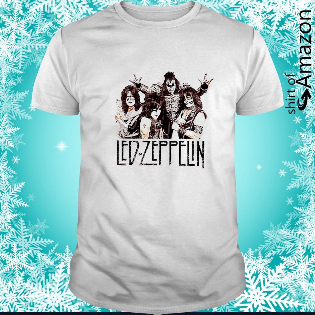 Led Zeppelin rock band shirt