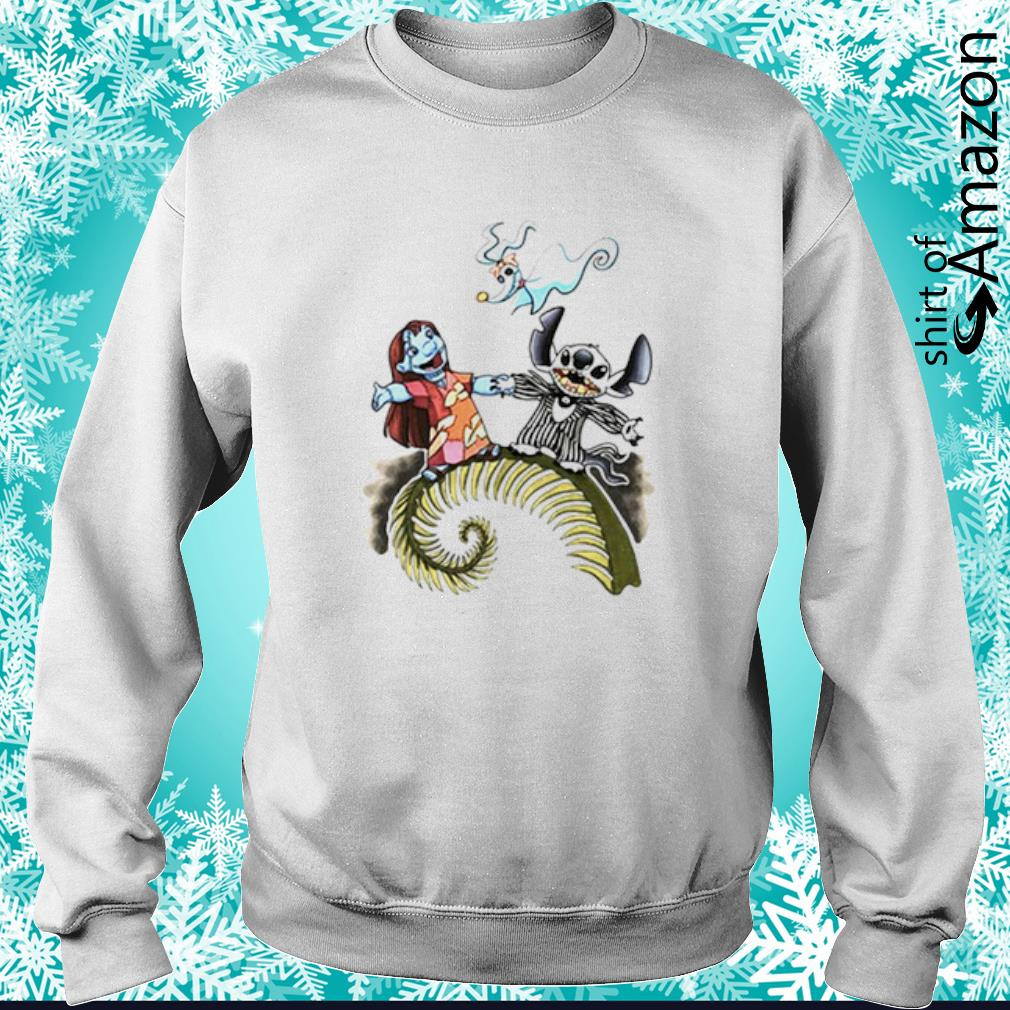 Lilo and Stitch as Jack and Sally Zero s sweater