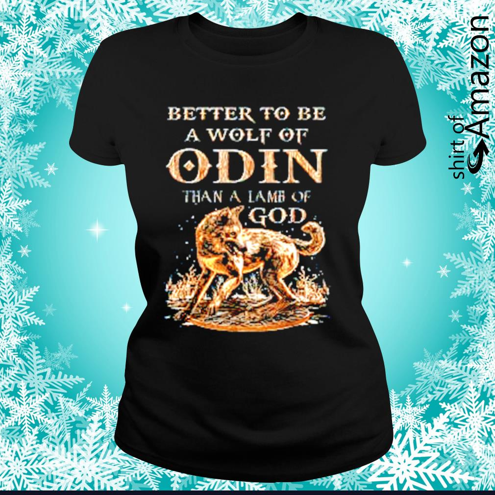It/'s Better To Be Than Lamb God Standard Unisex T-shirt Are You A Wolf Of Odin