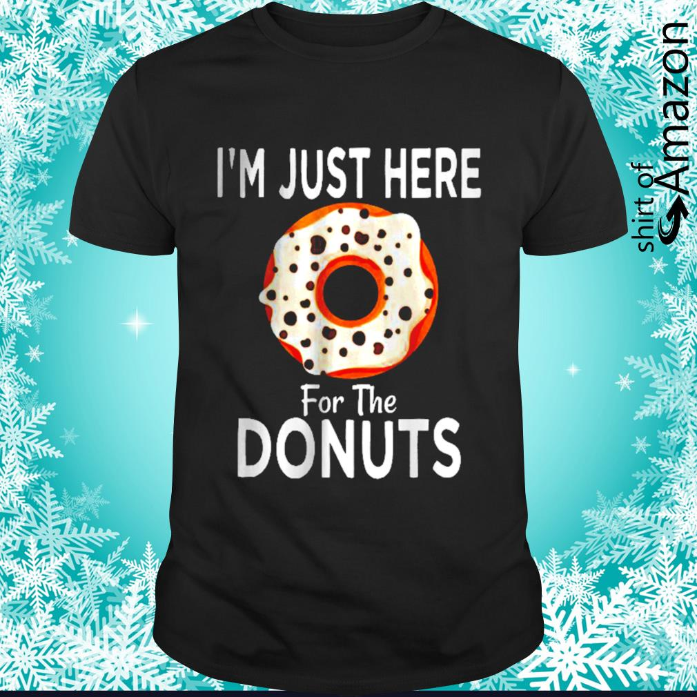 Just here for the donuts
